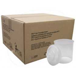 VASOS DESECHABLES TIPO PPS 600ml.