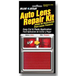 AUTO LENS REPAIR KIT - ROJO
